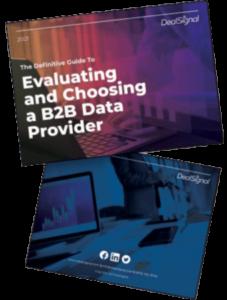 B2B data providers ebook