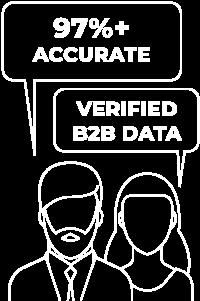97% Accurate, Verified B2B Data